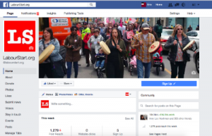 Our English global page on Facebook - picking up nearly 2 new followers per hour.