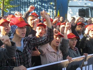 Deri-Is workers in Turkey.