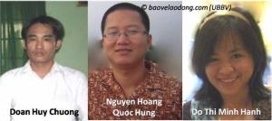 Défenseurs des droits des travailleurs au Vietnam